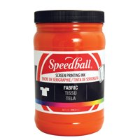 SPEEDBALL ART PRODUCTS 4609 FABRIC SCREEN INK ORANGE 32OZ