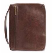 Bible Cover-Organizer-We've Got You Covered-Distressed Brown-Large