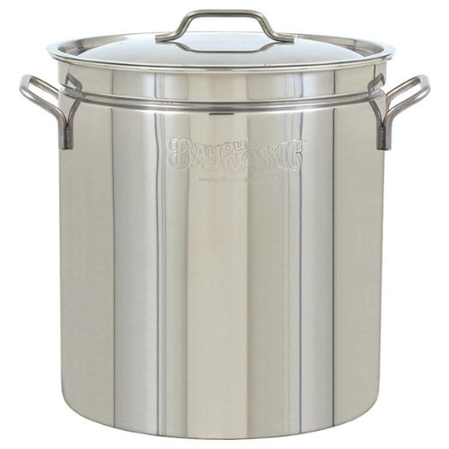 Bayou Classic 1124 Stockpot - 24 quart Stockpot, Lid - Stainless Steel