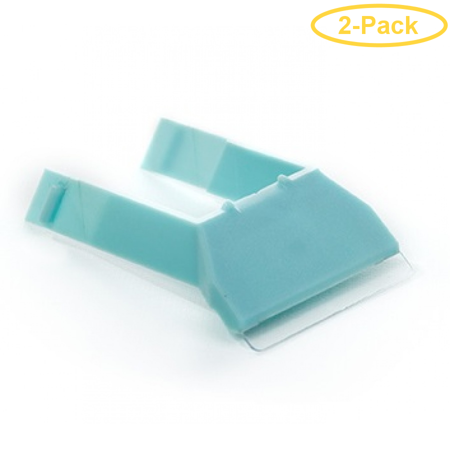 Mag Float Scraper Holder & Blade for Small & Medium Acrylic Aquarium Cleaners 1 count - Pack of 2