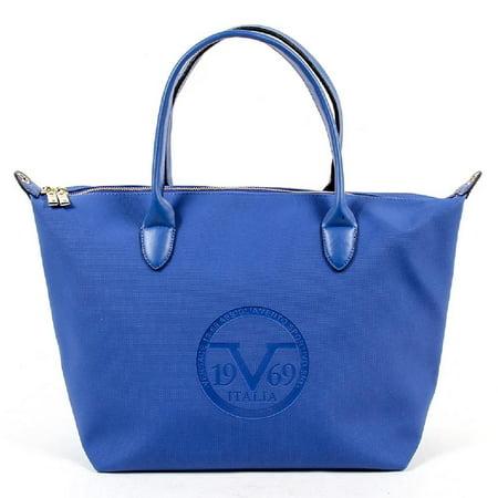 0a23b4b0711a Blue ONE SIZE V 1969 Italia Womens Handbag V1969001B SAX BLUE ...