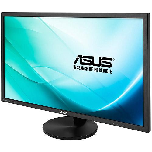 "Asus Vn289q 28"" Led Lcd Monitor - 16:9 - 5 Ms - Adjustable Display Angle - 1920 X 1080 - 16.7 Million Colors - 300 Nit - 80,000,000:1 - Full Hd - Speakers - Dvi - Hdmi - Vga - Displayport - (vn289h)"