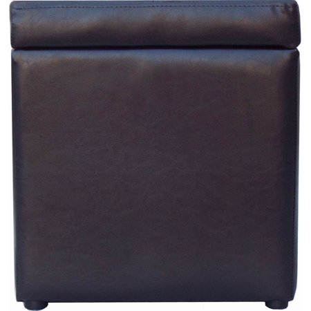 Better Homes And Gardens 30 Hinged Storage Ottoman Brown Best Ottomans