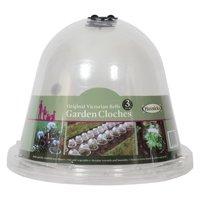 Tierra Garden Haxnicks Original Victorian Bell Cloches - 3 Pack