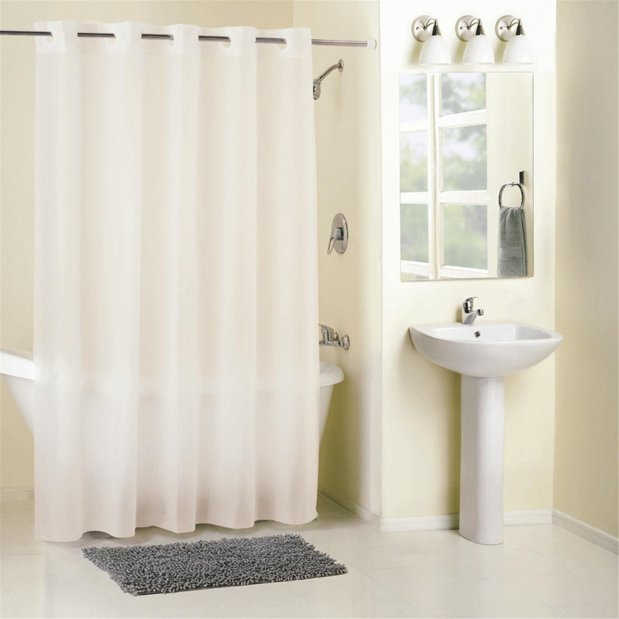 Hookless Shower Curtain With Liner