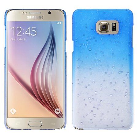 Galaxy Note 5 Case, Ultra Slim Raindrop Case Cover for Samsung Galaxy Note 5 - Blue