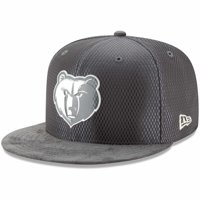 Memphis Grizzlies New Era Draft Silver Logo 59FIFTY Fitted Hat - Graphite