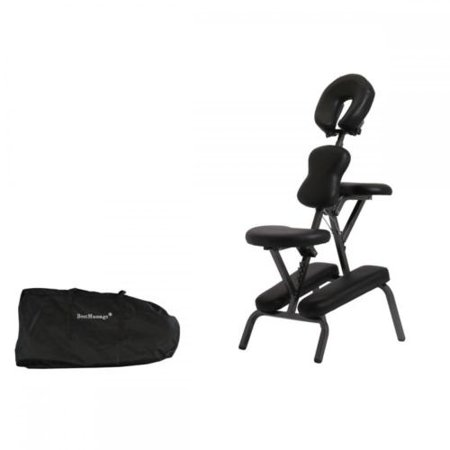 Portable Tattoo Spa Massage Chair Leather Pad Travel W/Free Carry Case