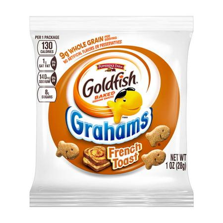 Goldfish Pepperidge Farm French Toast Grahams 1oz (PACK OF - Whole Wheat Toast