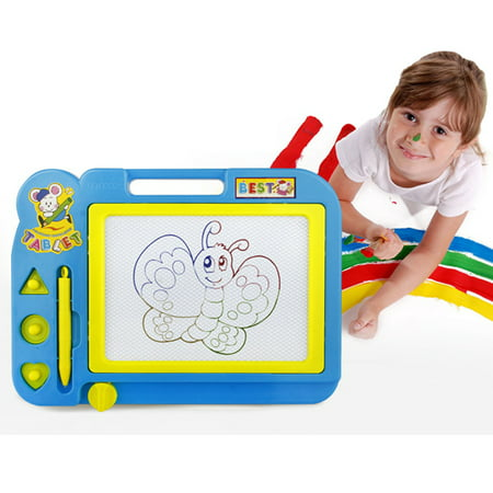 Magnetic Drawing Board,Drawing Area Colorful Magna Drawing Doodle Board for Kid Learning