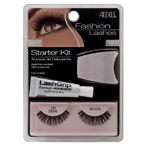 Ardell Fashion Lashes Starter Kit, Black [101] 1 ea (Pack of 3)