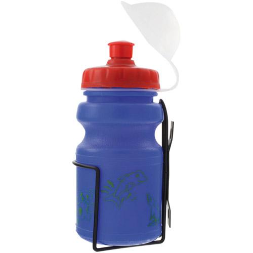 Ventura Children's Water Bottle with Cage, Blue