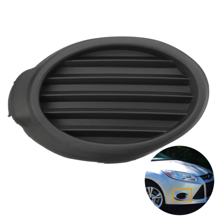 Front Right RH Fog Light Cover Vent Grille Bezels For Ford Focus 2012 2013 2014 #FO1039116, CP9Z17B814B, BM5119953B