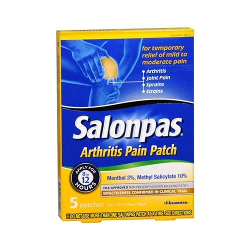 Salonpas Arthritis Pain Patch 5 ea