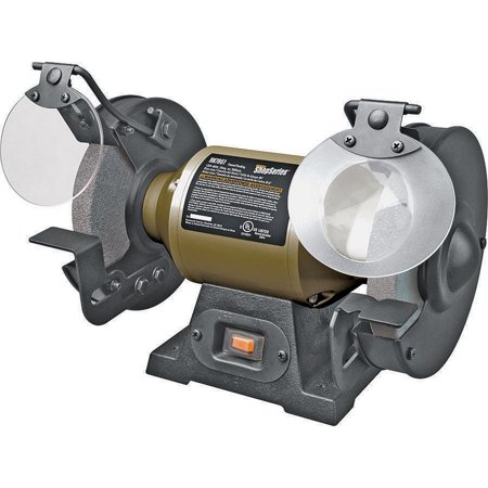 Rockwell RK7867 Bench Grinder, 1/2 hp, 2 A, 3450 rpm, 6 in Wheel