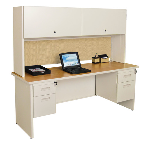 Marvel Office Furniture Pronto Door Computer Desk with Hutch