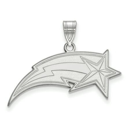 Roy Rose Jewelry Sterling Silver Logoart George Mason University Large Pendant