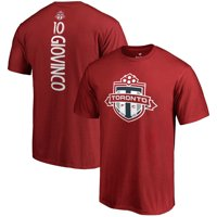 Sebastian Giovinco Toronto FC Fanatics Branded Backer Name & Number T-Shirt - Red