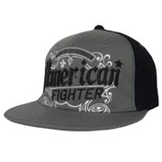 """American Fighter """"Trademark"""" Embroidered Hat - Large/XL - Charcoal"""