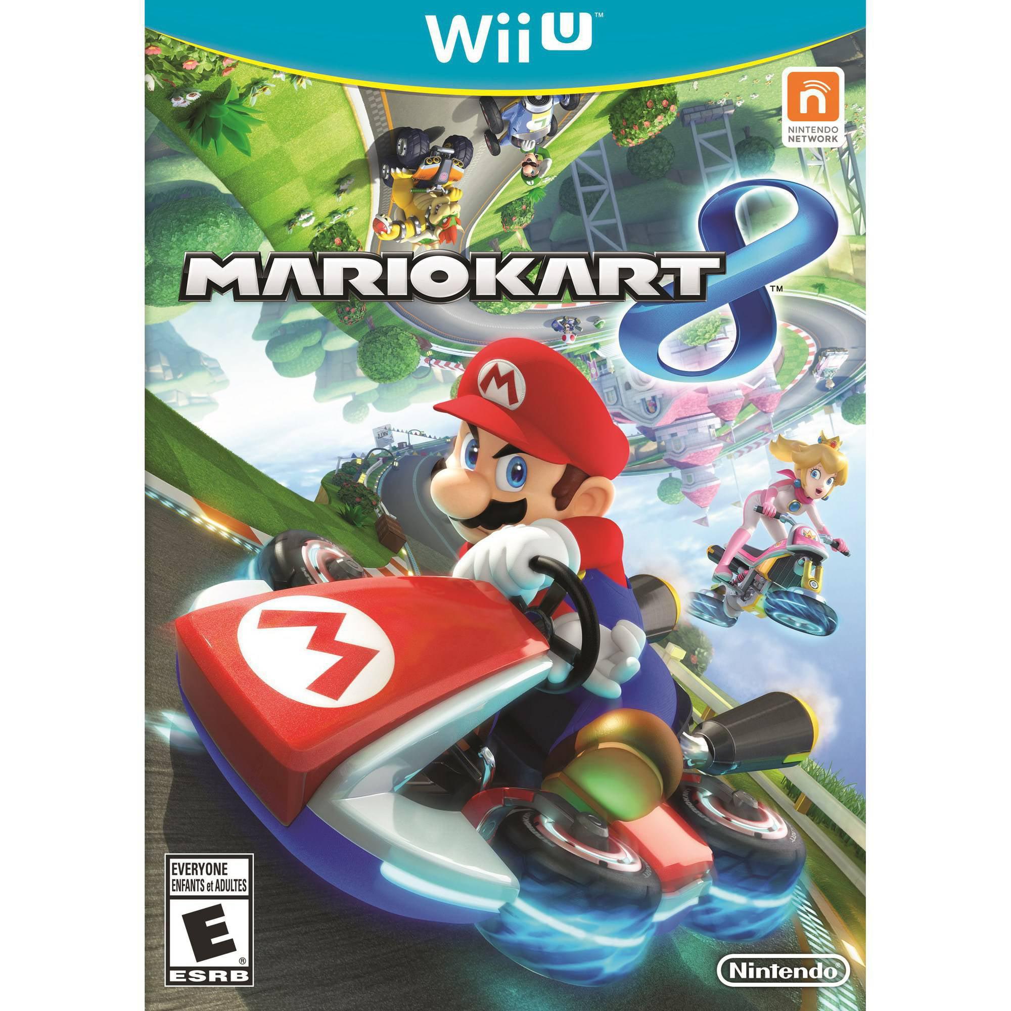 Refurbished Hori Mario Kart 8 Racing Wheel Luigi Nintendo Wii U