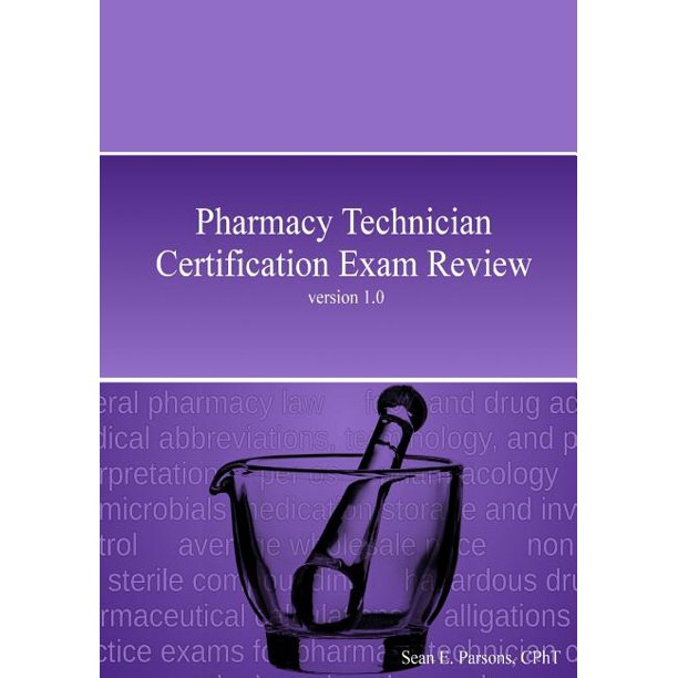 Pharmacy Technician Certification Exam Review (Paperback
