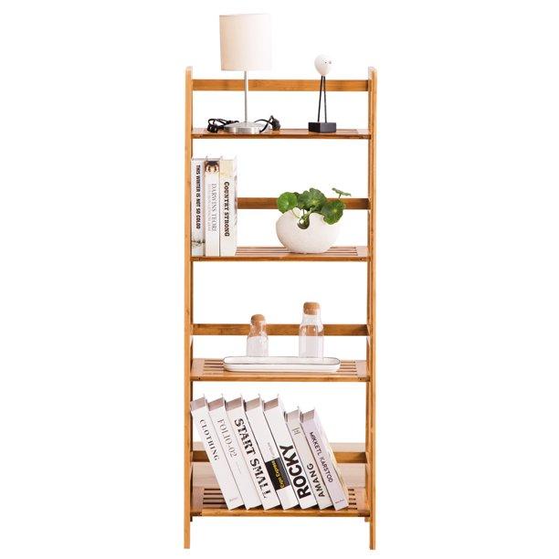 48*30*119CM] T-Shaped Bookshelf Wood Color - Walmart.com - Walmart.com