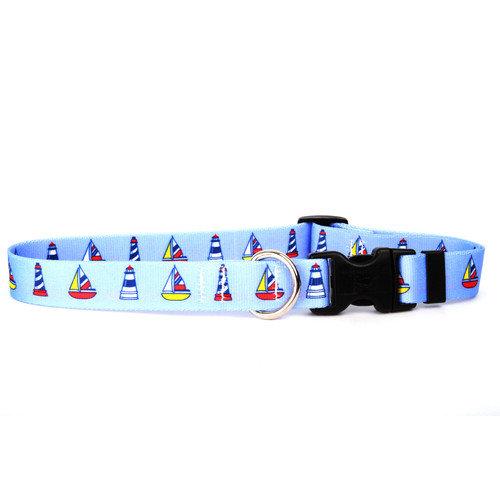 Yellow Dog Design SSN100C Santa and Snowman Standard Collar - Cat