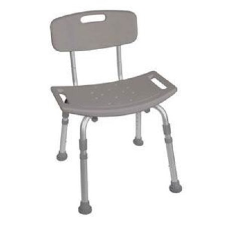 Deluxe K.D. Aluminum Bath Bench, 400 lb Weight Capacity-1 Each