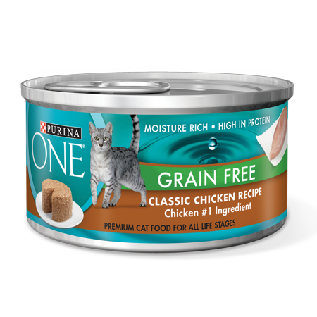 Purina one grain free classic pate chicken recipe wet cat food 3 purina one grain free classic pate chicken recipe wet cat food 3 oz forumfinder Images
