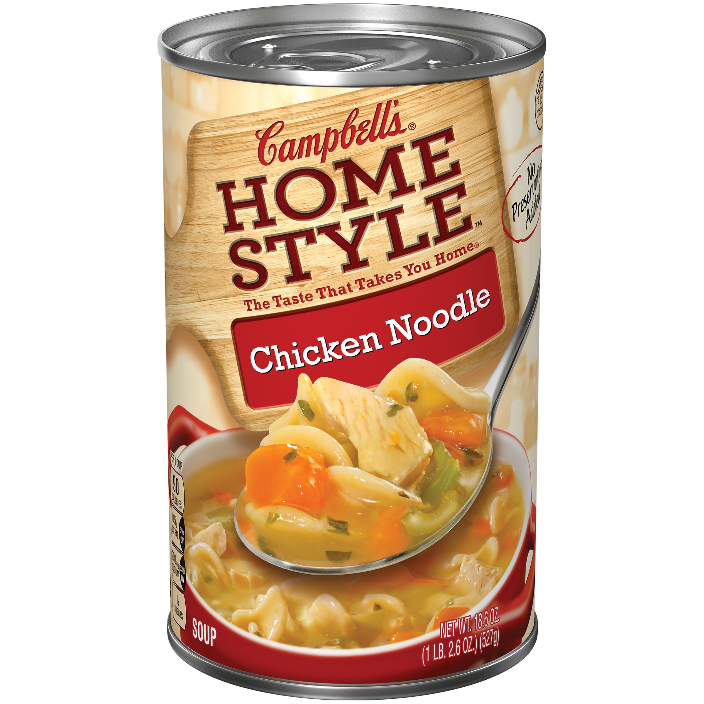 Campbell's Homestyle Chicken Noodle Soup 18.6oz