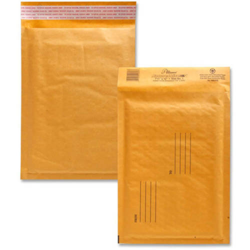 Alliance Rubber Kraft Bubble Mailer, Pack of 25