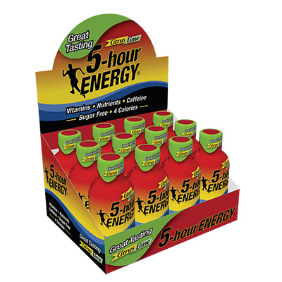 5-hour ENERGY Citrus Lime, 1.93 Fl Oz, 12 Ct
