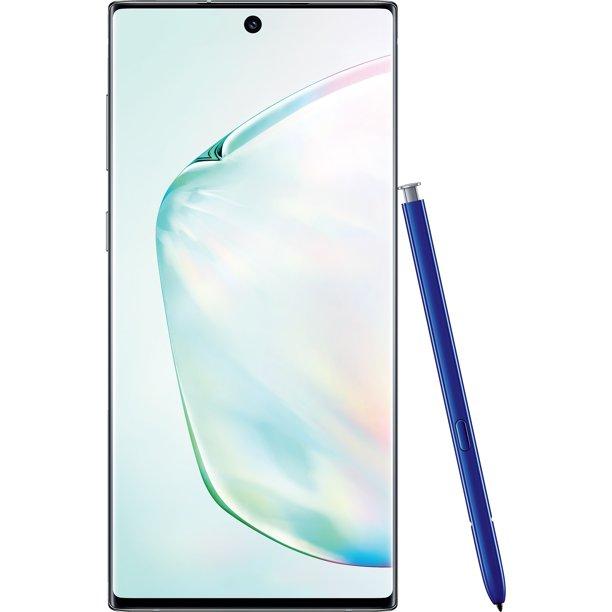 Simple Mobile SAMSUNG Galaxy Note 10, 256GB Aura Glow - Prepaid Smartphone