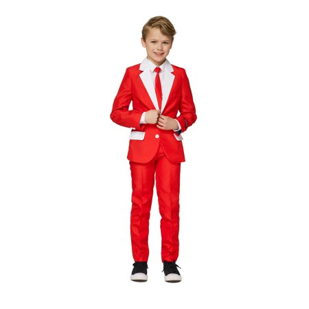 Suitmeister Boys Santa Outfit Christmas Suit