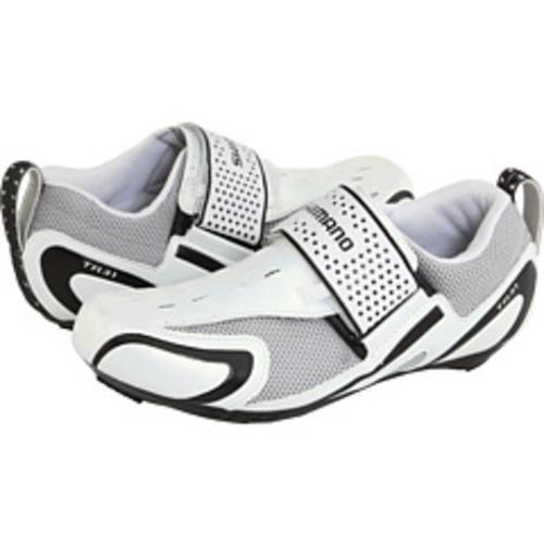 Shimano SH-TR31 Road Shoes White/ Black Size 37
