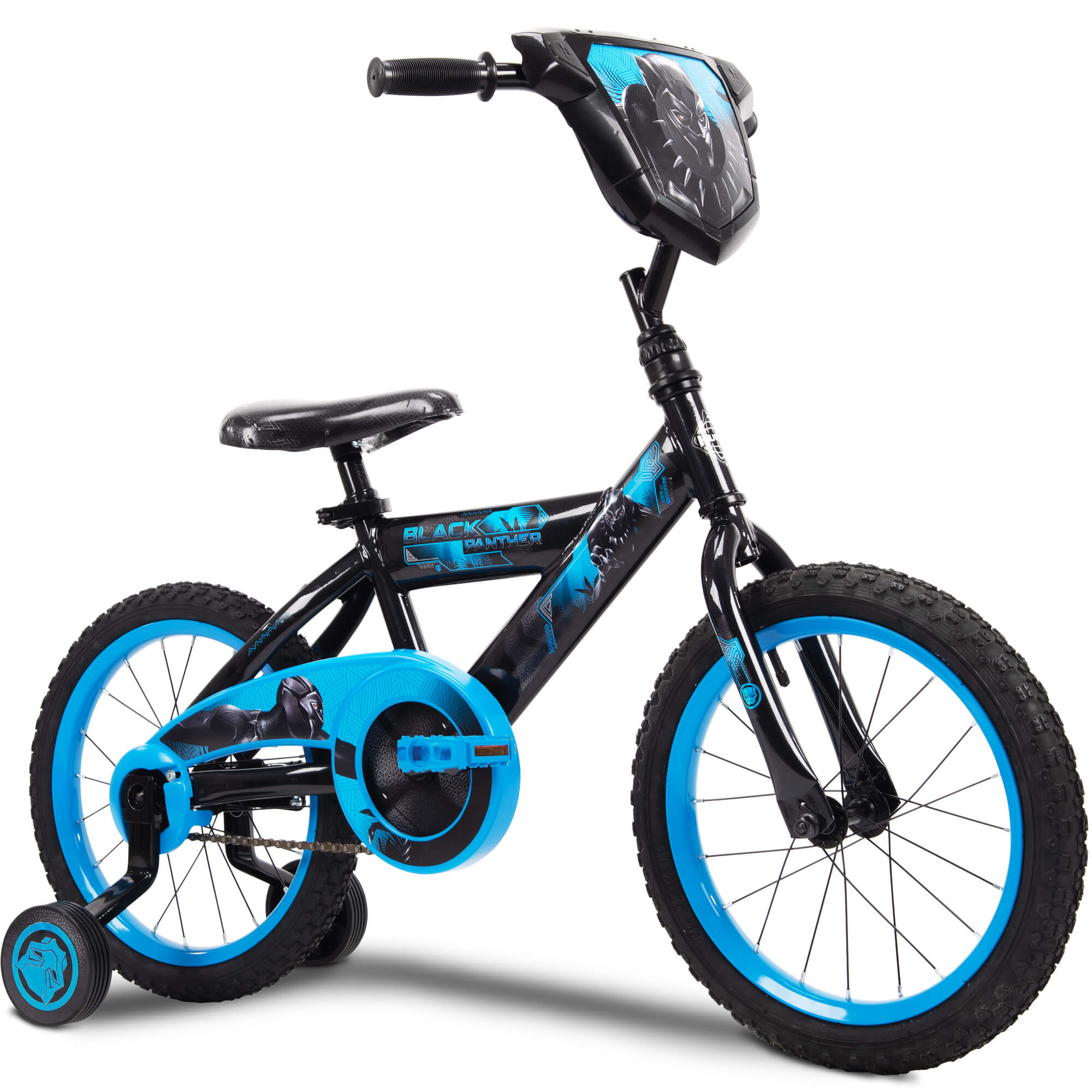 Marvel Black Panther 16 Boys Single Speed Ez Build Bike By Huffy