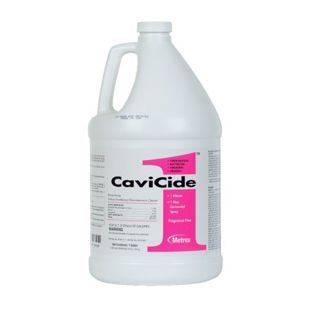 CaviCide1 Surface Disinfectant 13-5000 1 Gallon Case of 4, Alcohol