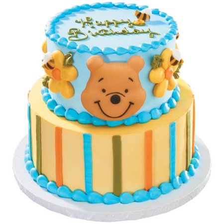 winnie the pooh pooh and bees molded sugar cake cupcake. Black Bedroom Furniture Sets. Home Design Ideas