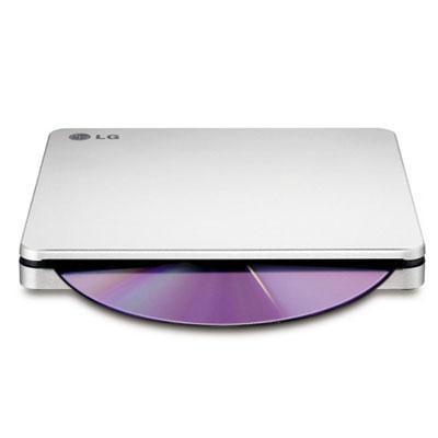 LG Ext 8x Slim USB DVDRW Silver