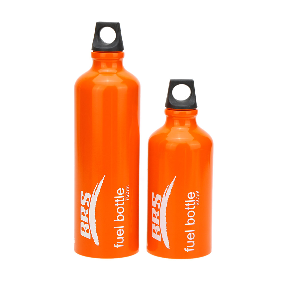 750//530ml Aluminum Alloy Fuel Bottle Tank for Camping Stove Outdoor Survival