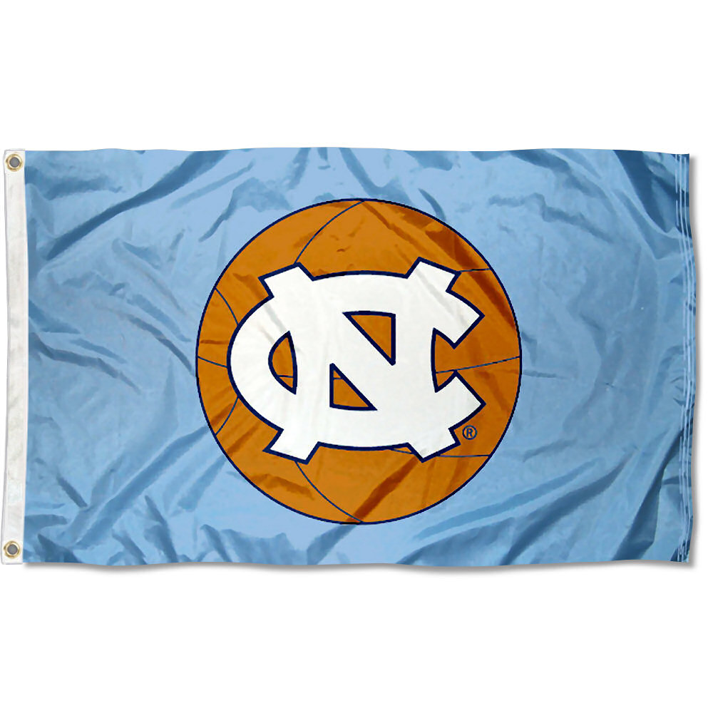 North Carolina Tar Heels Basketball 3' x 5' Pole Flag