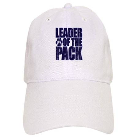 9534c042df5e8 CafePress - LEADER OF THE PACK - Printed Adjustable Baseball Cap -  Walmart.com