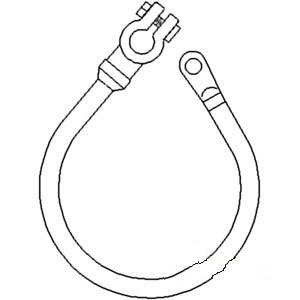 311228 New Ford New Holland Tractor Battery Cable 2000