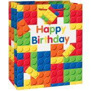 (3 Pack) Building Blocks Gift Bag (Blick Label Bag)