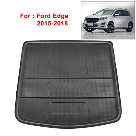 Rear Trunk Liner Cargo Mat Floor Tray for Ford Edge 2015-2018