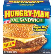 Hungry-man Hungry Man Xxl Angus Cheeseburger
