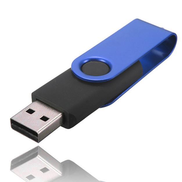 Outtop Swivel USB 2.0 Metal Flash Memory Stick Storage Thumb U Disk