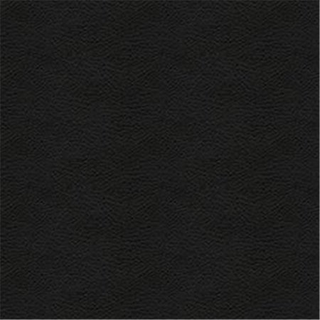 Austin 9009 Engineered Leather Fabric, Black Austin Black Leather