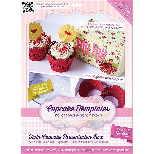 crafter's companion twin cupcake presentation box template - walmart, Walmart Template Presentation, Presentation templates