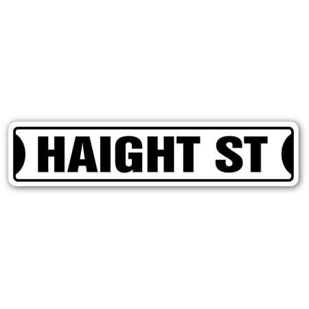 HAIGHT Street Sign san francisco ashbury road SF | Indoor/Outdoor | 24